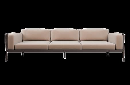 Tribù - Natal Alu - Sofa 3-seater