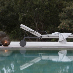 Nodi - Sunlounger Adjustable